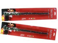 Wholesale NEW ARRIVE Harry Potter LED Magic Wand Lights Sound Sticks Party Cosplay Costume Accessory