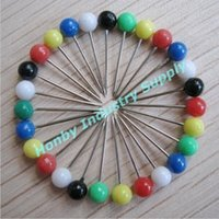 Wholesale Small Size mm mm Plastic Round Head Map Pin per pack