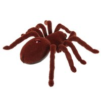 Wholesale 2016 New Infrared Remote Control Realistic Crawler Tarantula Spider RC Toy Prank Remote Control Line