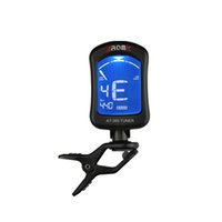 bass viola - 360 Degree Rotatable Electric Tuner Clip on Tuner for Chromatic Bass Violin Viola Ukulele Aroma AT Guitar Tuner I691