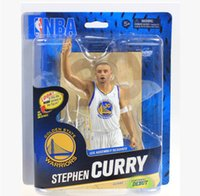 anthony action - Stephen Curry LeBron James Carmelo Anthony Davis Pierce Tim Harden inch PVC Action Figure Model Toys Gift Collection