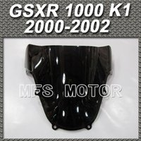 Wholesale Black Windshield Windscreen For Suzuki GSXR GSX R1000 K1