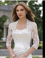 bolero jacket wedding dress - 2016 Elegant shawl lace shrug lace wraps bolero wedding Bridal Jacket bolero jackets bridal bolero lace for wedding dresses