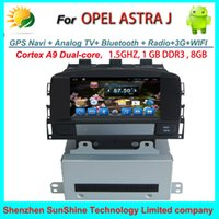 Wholesale OPEL ASTRA J car dvd gps navigation Radio TV Bluetooth G WIFI din touch screen car multimedia audio player android