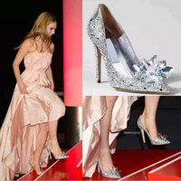 Cheap wedding shoes Best 2015 silver rhinestone crystal