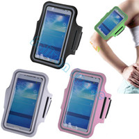 Wholesale Universal Running Sports Armband Gym Phone Bag Case Arm Band For Samsung Galaxy S3 S4 S5 SV006500