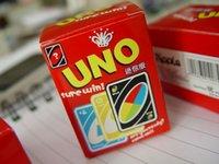 Wholesale 2016 UNO sure win mini edition poker card family fun entermainment board game Kids funny Puzzle game