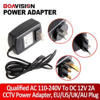 ac dc systems - Qualified AC V To DC V A Power Supply Adapter For CCTV Camera System EU US UK AU Plug