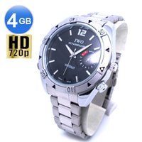 Wholesale HD P GB Hidden Pinhole Cams Real Spy Watch DVR with TV Playback
