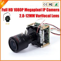cctv camera lens - Full HD P IP Camera MP Varifocal Lens MM Mini Security CCTV Megapixel Camera IP Surveillance IR Cut Filter