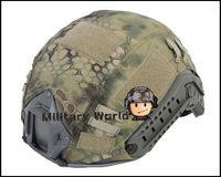 ballistic materials - Tactical Helmet Cover for Ops Core Fast Ballistic Nylon Material Exquisite Workmanship Outdoor Activities Typhon MR order lt no track