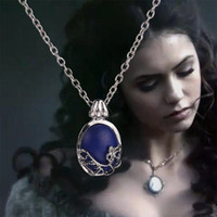 good quality jewelry - Vampire Diaries necklaces pendants fashion vintage retro Natural Stone silver sun women necklaces good quality accessories jewelry