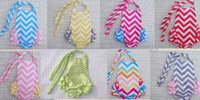 beach bloomer - summer hot sale chevron baby toddlers one piece romper Backless bubble rompers strap bloomers girl s beach clothes