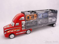 Wholesale 2015 Hot Bestsellers DIY Toy Truck Alloy Cars the Best Christmas gift Fast Shipping