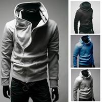 mens hoodie - jackets men hoodie Hot High Collar Coat top brand mens Jackets Coat Hoodies for men fashion hot sale
