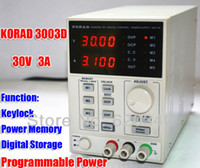 Wholesale KORAD KA6003D High Precision The Lab programmable Adjustable Digital Regulated power supply DC Power Supply V A mA Ps order lt no track