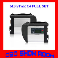 Wholesale 2015 DHL New Compact C4 Diagnose MB Star C4 Connect SD Quality A Diagnostic Tool Scanner