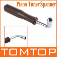 Wholesale L shape Piano Tuner Spanner Guzheng Square Shape Tip Tuning Hammer Wrench Tuner Spanner tool