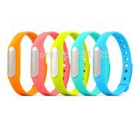 alert level - Pre order Original Xiaomi Smart Bracelet Intelligent vibration Alarm Clock IP67 waterproof level Caller alerts bracelet For Mi4