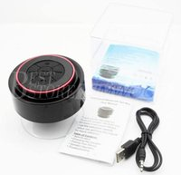 iphone4s mobile phone - High Quality IPX7 Outdoor Portable Waterproof Wireless Bluetooth Speaker Suction Cup Handsfree MIC Voice Box For iphone4S S ipad PC Phone