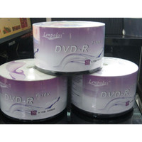 Wholesale Factory Price Blank Discs Recordable Printable DVD R for DVD Movies TV series DVDR Disc Disk GB X LENPOLO DVD R DHL Free