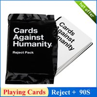 Wholesale Gifts And Toys For Big Kids Playing Cards For Most People Reject Pack S Optional Also Have UK US AU Basic Expansion Version