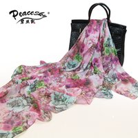 Wholesale Fashion Woman s Imitate Silk Once upon a time in France Big Squares Chiffon Scarf shawl X140cm