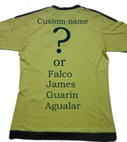 colombia - Best quality Colombia jersey Falco James home yellow Colombia jersey thai quality soocer jersey