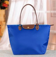 fashion handbag wholesale - Dumplings package shoulder bags women handbag Beach bag folding bag female bag