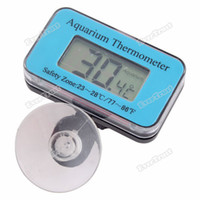 Wholesale evertrust Aquarium Thermometer Lcd Digital Submersible Fish Tank High Quality