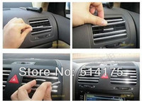 air china tracking - Car Chrome Styling Effect Strip Air vent u profile By China Post Air Mail order lt no track