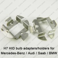 audi aftermarket - 2pcs H7 HID Xenon Bulbs Adapters Holders For Audi A6 BMW X5 Mercedes Benz Saab install Aftermarket H7 HID Bulbs M35859 car