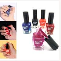 Wholesale High Capacity Nail Polish Colorful Varnish for Gel Nails No Odor Shining Top Coat Nail Gel Lacquer Natural Healthy Peelable