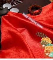 Wholesale 2m width cm AAChinese clothing Brocade cloth doll dress costume Hanfu antique garments fabrics brocade Dragon jacquard silk fabric