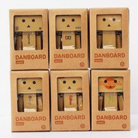 Wholesale 6 kind of style Lovely Danboard Mini PVC Action Figure Toy Danbo Doll with LED Light Amazon Style cm