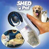 Wholesale 2016 Shed Pal Pet Hair Remover Dog Cat Grooming Vacuum System Clean Fur With Logo Packing