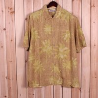 bahama clothes - t bahama men silk clothing casual short sleeve shirt L bust cm quot