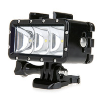 Wholesale Camera LED Video POV Flash Fill Light Night Light Waterproof High Power Dimmable For GoPro Hero W2208A