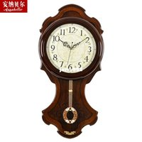 antique chinese bell - 100 real picture Annabel clock living room European style wall clock mute hanging watch the new classical Chinese large swing bell creativ