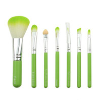 mini make up kit - 7PCS Mini Portable Cosmetic Makeup Brush Set Cartoon Kitty Make Up Brushes Kit