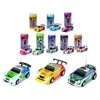 car mini racing - FQ Coke Mini Remote Control Car Coke Can Mini RC Radio Remote Control Micro Racing Car RC Toys Gift For Children Kids