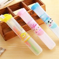 Wholesale New Arrivals Toothbrush Storage Box Tooth Brush Case PVC Traveling Camping Easy To Carry Size CM JB12