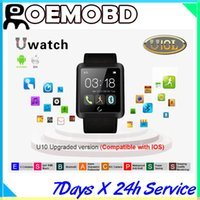 wrist watch - Hot sales u10l Smart Watch Bluetooth Phone Mate Smartwatch U Watch Wrist for Android for iPhone S S for Samsung S4 S5 Note Note