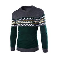 arrival knitwears - Men New Arrival Casual Fit Knitted Crewneck Long Sleeve Good Selling Pullover Sweater Knitwears L XL XXL