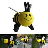 Wholesale 2015 New Style Hot Sale Cute Lovely Bee Antenna Topper For Car Decoration Interior Accessories Ornaments