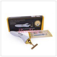 battery rejuvenation - Portable Skin Care Device K Gold Vibrator massager BIO Anti wrinkle Beauty Machine Without Battery