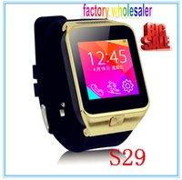 Wholesale factory wholesaler GV09 S29 Bluetooth Smart Watch Wrist Watch price of smart watch phone