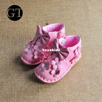 baby buckle pad - Xayakids Flats girls New xayakids new winter wild inner child embroidered cashmere thermal cotton padded shoes children shoes baby