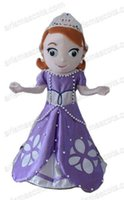 Cheap AM0517 Princess Sofia mascot costume,cartoon costumes, party costumes,carnival costume Fur mascot free shipping