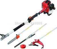 brush cutter - 5 in Multi Brush Cutter Chainsaw Petrol Hedge Trimmer Grass Cutter Garden Tools Multi function Strimmer Extender